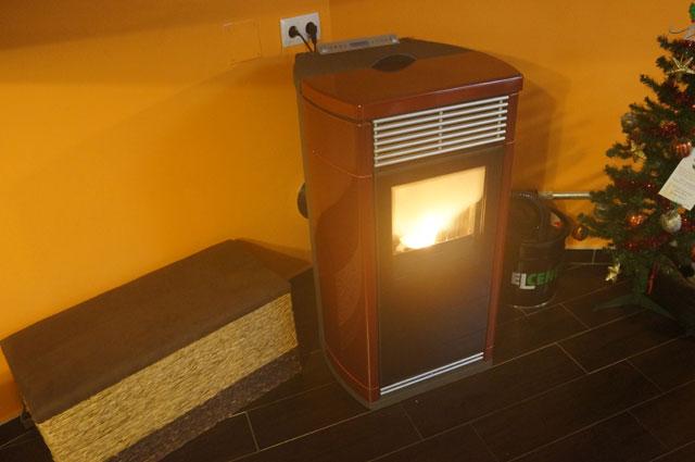 Estufas y calderas Pellets